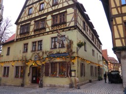 Photo duo: Rothenburg's Old Town